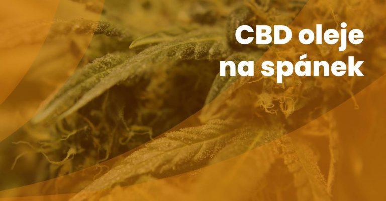 Cbd Oleje Na Spanek