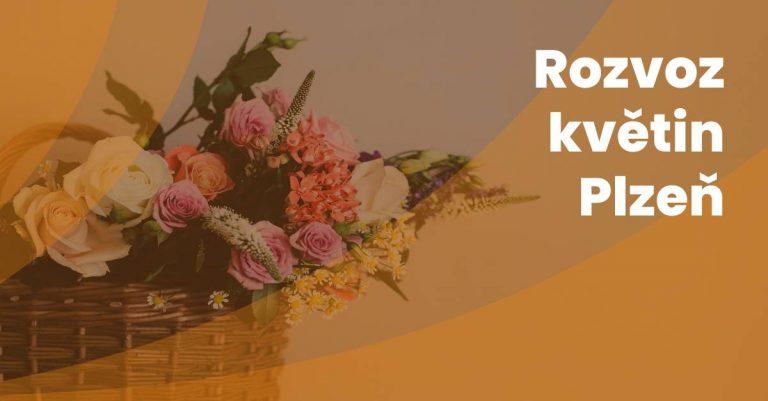 Rozvoz Kvetin V Plzni